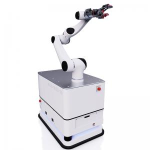 AI mobile robotic arm with high precise easy to be teached