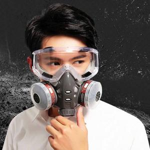 The best n95 gas mask with Goggles for COVID-19
