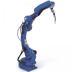 2012mm MIG welding robot with Megmeet welder by EtherCat bus